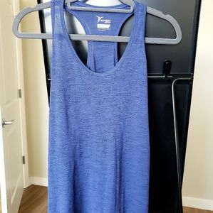 Old Navy workout/athletic racerback tank in blue